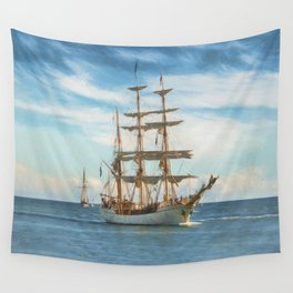 Sailing Grace Wall Tapestry