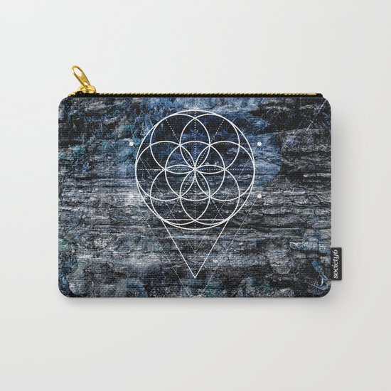 Flower geometry Carry-All Pouch