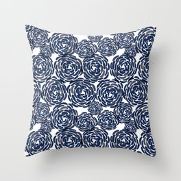 Naomi Florals Throw Pillow