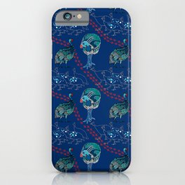 Guinea Fowl on the Run iPhone Case