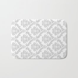DAMASK GREY Bath Mat
