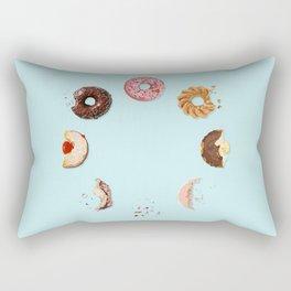Donut Phases Rectangular Pillow