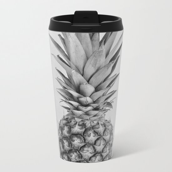 Pineapple II Metal Travel Mug