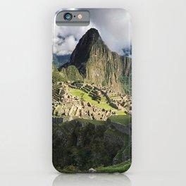 Machu Picchu, Peru iPhone Case
