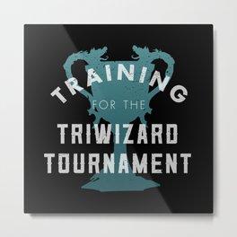 Training: Triwizard  Cup Metal Print