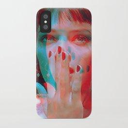 """I said goddamn. Goddamn"" - MIA WALLACE iPhone Case"