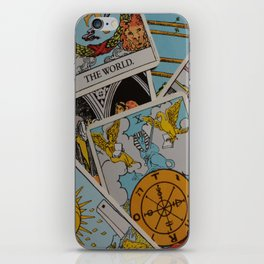 Tarot Cards: Let the Magic Happen iPhone Skin