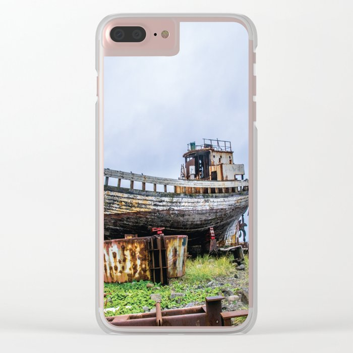 Remembering Better Days Clear iPhone Case