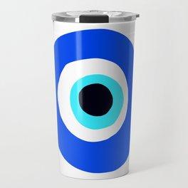 Evil Eye Talisman Lucky Charm Travel Mug
