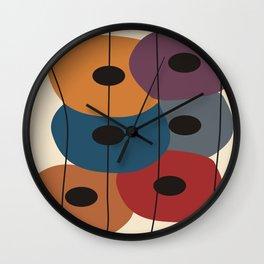 Big Artsy Circles Wall Clock