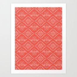 Hand Drawn Embroidery Star Stitches Seamless Vector Pattern. Cross Stitch Art Print