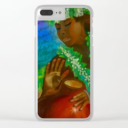 The Legend of the Taro Clear iPhone Case