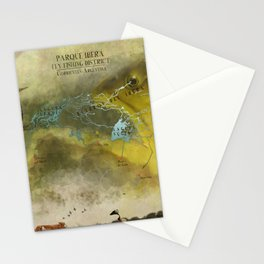 Ibera fly fishing district Stationery Cards