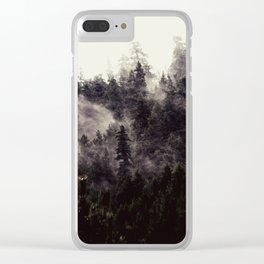 MstyMtnMrnings Clear iPhone Case