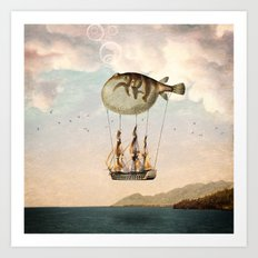 The Big Journey Art Print