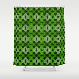 Op Art 179 Shower Curtain