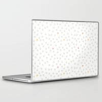coraline Laptop & iPad Skins featuring Soft graphic by Coraline Paissard
