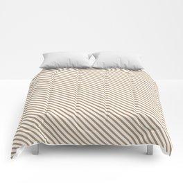 Iced Coffee Stripe Comforters