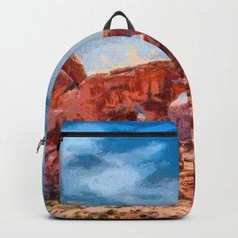 Arches national park, Utah, USA Backpack