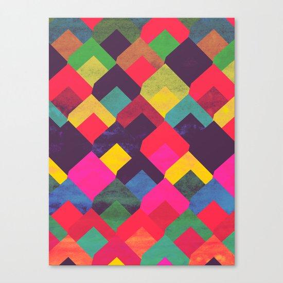 colour + pattern 11 Canvas Print