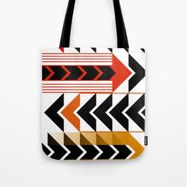 Colourful Arrows Graphic Art Design Tote Bag