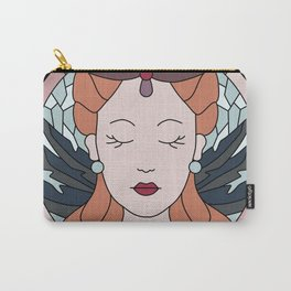 Ice & Fire - Stained Glass Carry-All Pouch