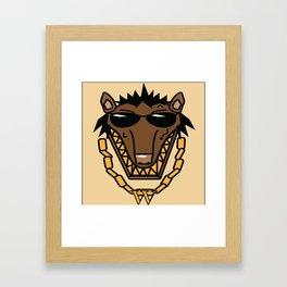 Mr.Wolf Framed Art Print