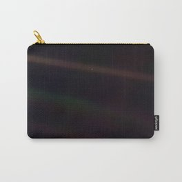 Mote of dust, suspended in a sunbeam Carry-All Pouch