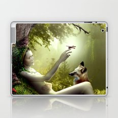Lady of the Forest Laptop & iPad Skin