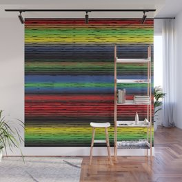 Allow Stripe To Fill Your Life Wall Mural