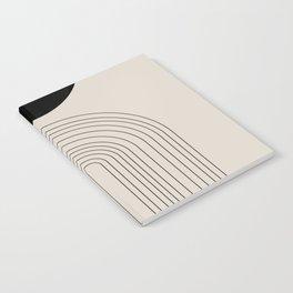 Arch, geometric modern art Notebook