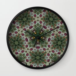 Multifacetted Kaleidoscope Wall Clock