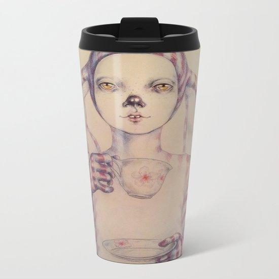 Tea? Metal Travel Mug