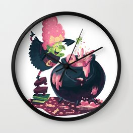 Candy Witch Wall Clock