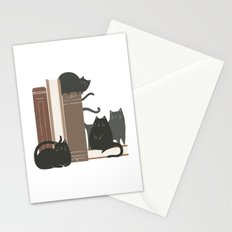 CATS + BOOKS Stationery Cards