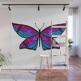 Fly With Pride: Androgyne Flag Butterfly Wall Mural