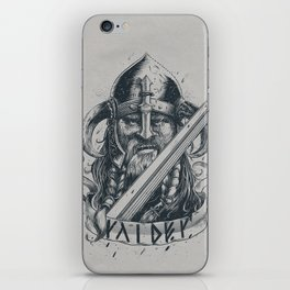 Raider (Viking) iPhone Skin