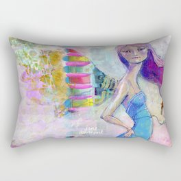 Perfect Little by Jane Davenport Rectangular Pillow