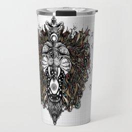 Cosmic Ragga Lion Travel Mug