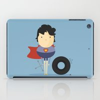 super hero iPad Cases featuring My Super hero! by Juliana Rojas | Puchu