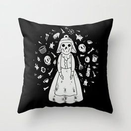 The Ringing of the Bell Throw Pillow