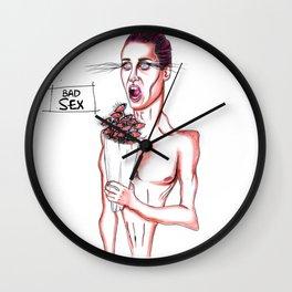 Bad Sex Wall Clock