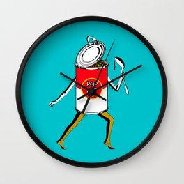 Pop Art to Go Wall Clock