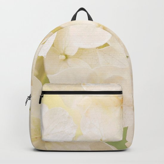 Pale And Beautiful Flowers On A Soft Background #decor #buyart #society6 Backpack