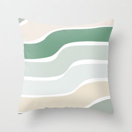 Rainbow Swerve Sorbet Throw Pillow