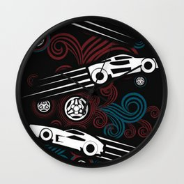 Rocket League Video Game The Chase Funny Wall Clock