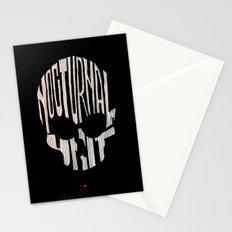 NU skull Stationery Cards