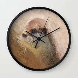 Otterly Close Wall Clock