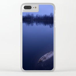 Sunset at the Lake Clear iPhone Case