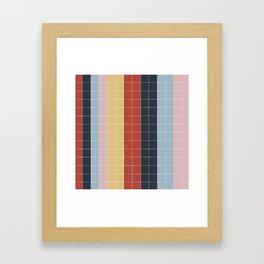 Grid in Film Student Framed Art Print